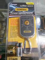 Jual Deteksi Petir / Lightning Detector General LD7 Harga Lebih Murah Call 08128222998
