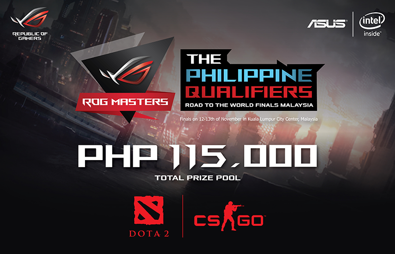 ASUS ROG Master 2016 Gaming Tournament Announced