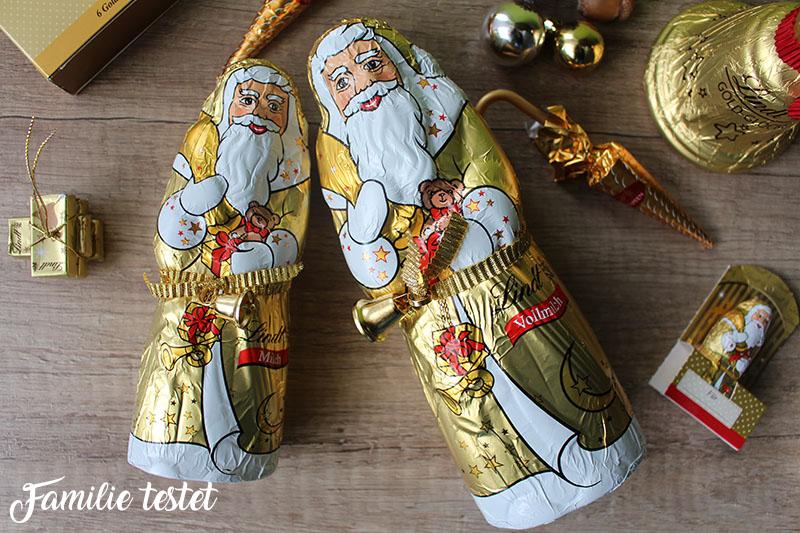 goldener weihnachtsmann vollmilch