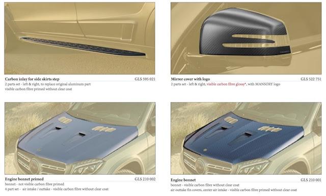 7人乗りで840馬力!マンソリーが「メルセデスAMG GLS63」を厳つくパワフルにカスタム!