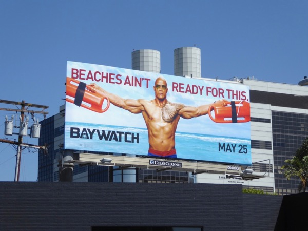 Baywatch Beaches aint ready for this billboard