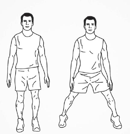 30 Day HIIT Workout Day 13 - half jacks