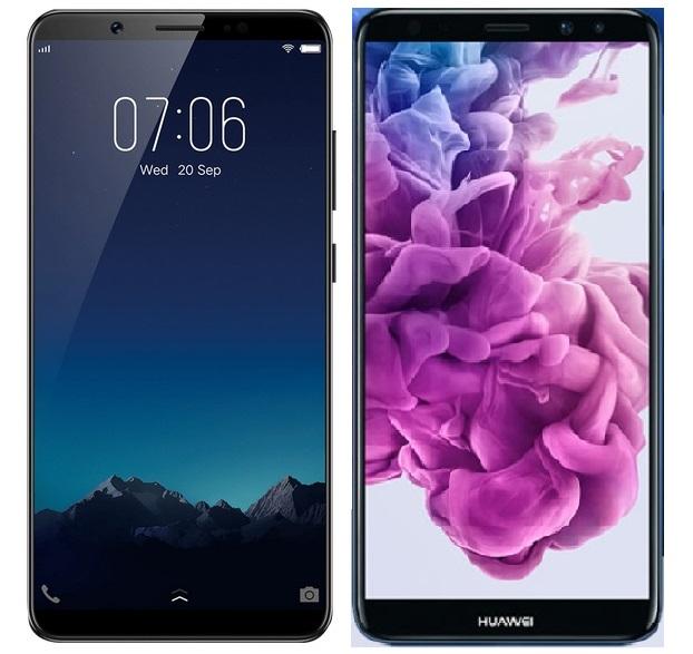 Vivo V7+ versus Huawei Nova 2i; Battle of FullView Display