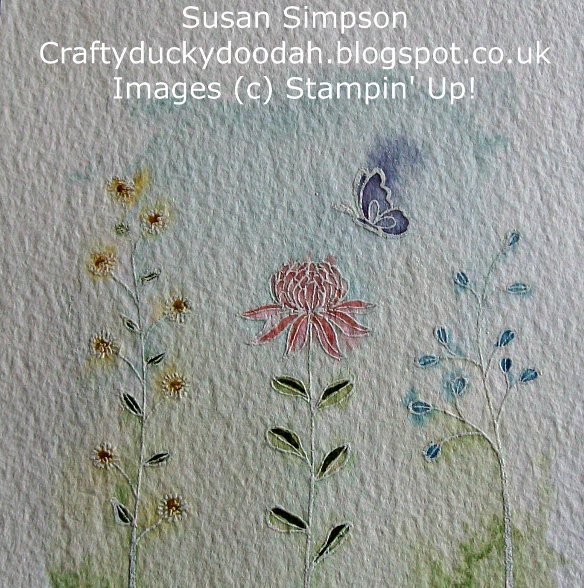 Craftyduckydoodah!: Stampin' Up! - Flowering Fields (SAB ...