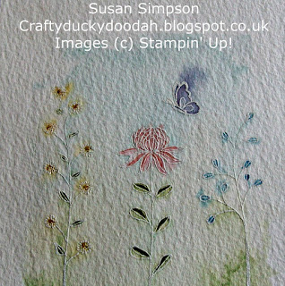 Stampin' Up! Susan Simpson Independent Stampin' Up! Demonstrator, Craftyduckydoodah!, Flowering Fields,