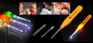 harga barang unik surabaya, agen barang unik, aneka barang unik murah, flashlight earpick, korek kuping led