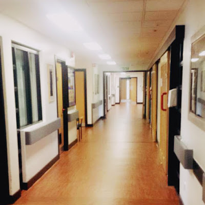Day in the Life - Psychiatric Inpatient - hospital corridor