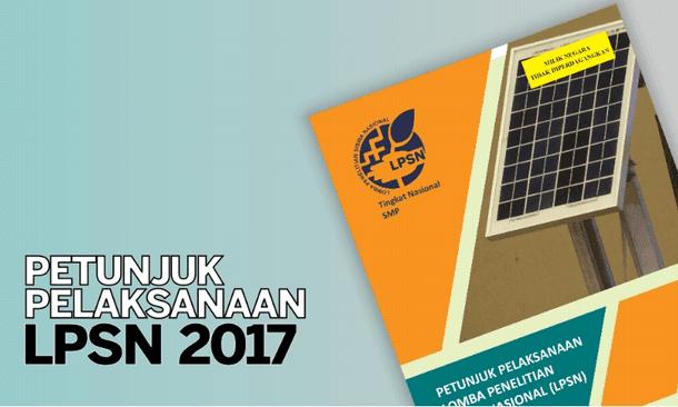 Petunjuk Pelaksanaan LPSN SMP Tahun 2017