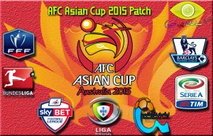PES 2015 AFC Asian Cup 2015 Patch v1.00