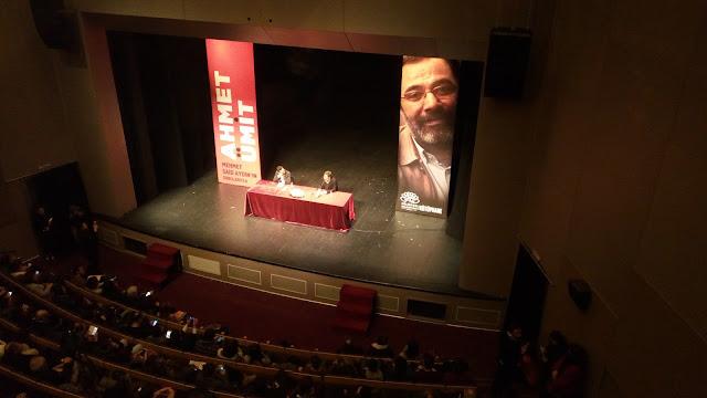 Ahmet Ümit Bursa söylesi