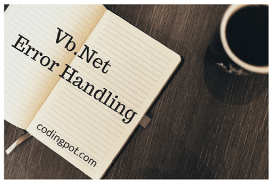 Vb.net Error Handling