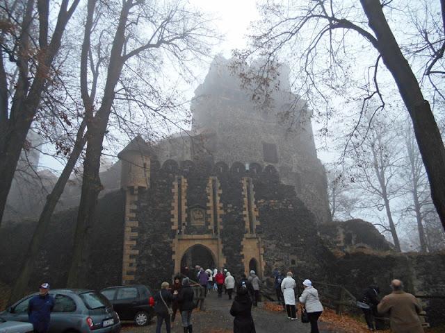 Dolny Śląsk, mgła, Złotoryja, Sudety, warownie