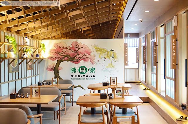 Chin Ma Ya Ramen Dinning Room