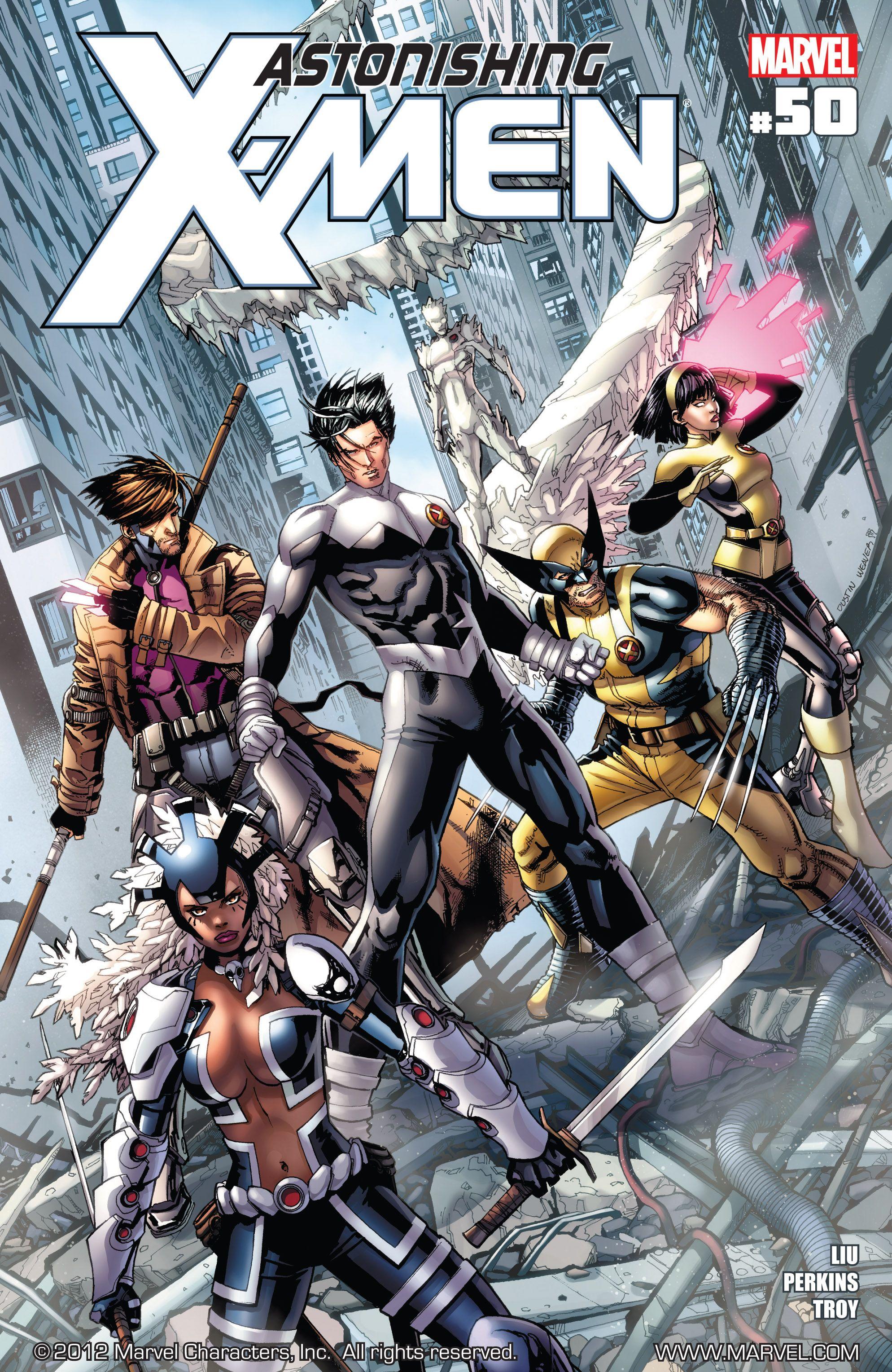 Astonishing X-Men (2004) 50 Page 1