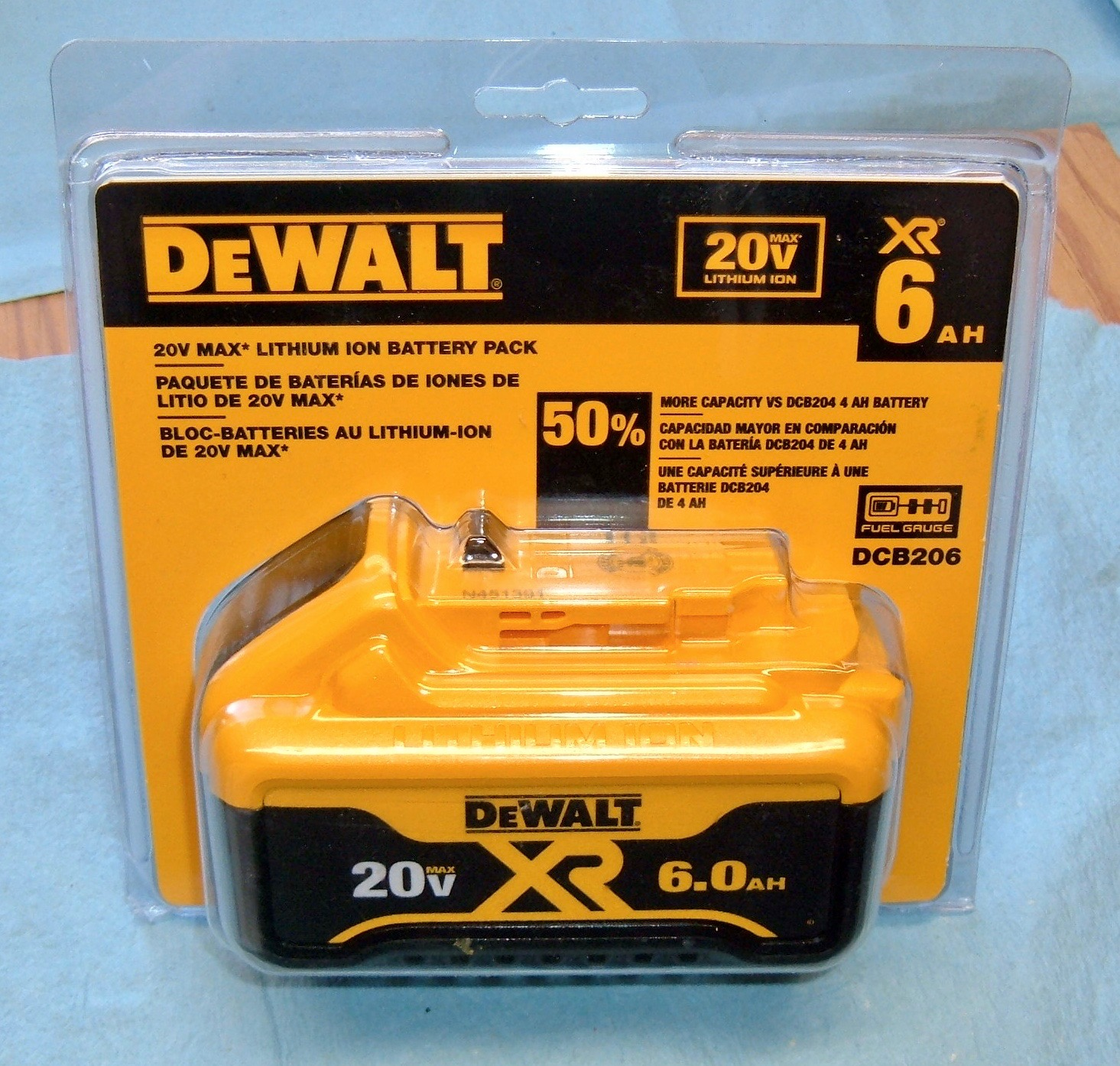 Syonyk's Project Blog: DeWalt 20V Max 6 0Ah Pack Teardown