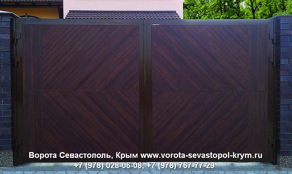 Распашные ворота в Крыму