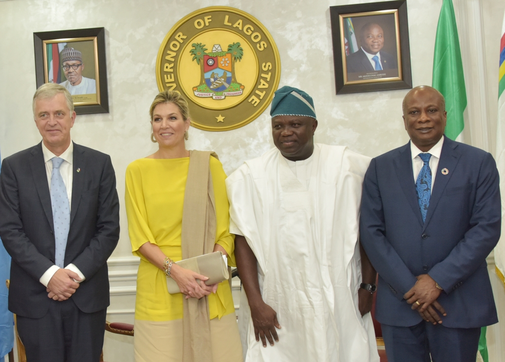 Photos & Full Details From The Visit Of Queen Of Netherlands To Governor Ambode2