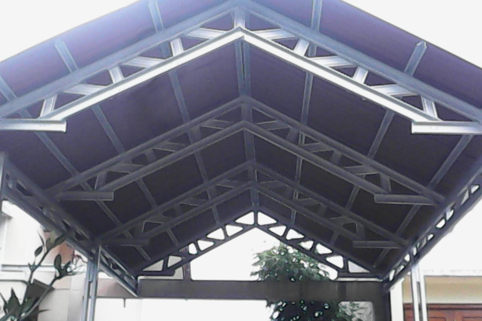 canopy baja ringan di jakarta gambar konstruksi kanopi | expo desain rumah