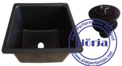 Lab rectangle sink PP / Bak cuci  lab persegi PP