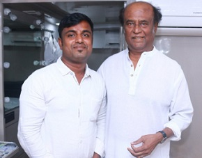 RajiniKanth With Fans Photos