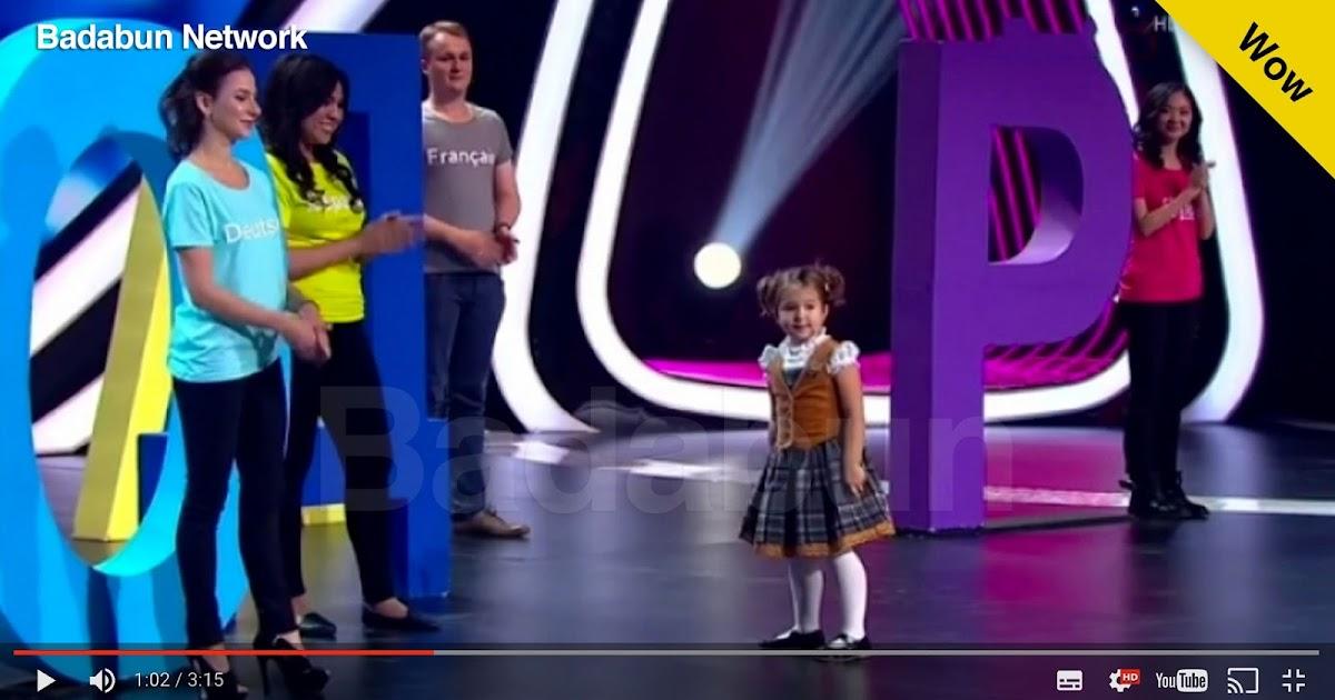 niña rusa prodigio políglota habla 7 idiomas tiene 4años