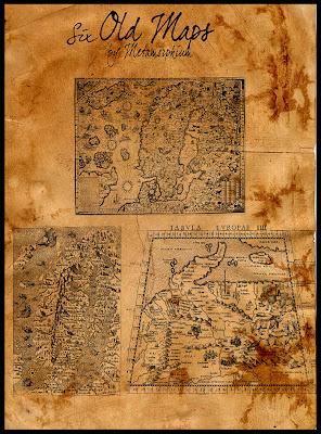 Pinceles de mapas
