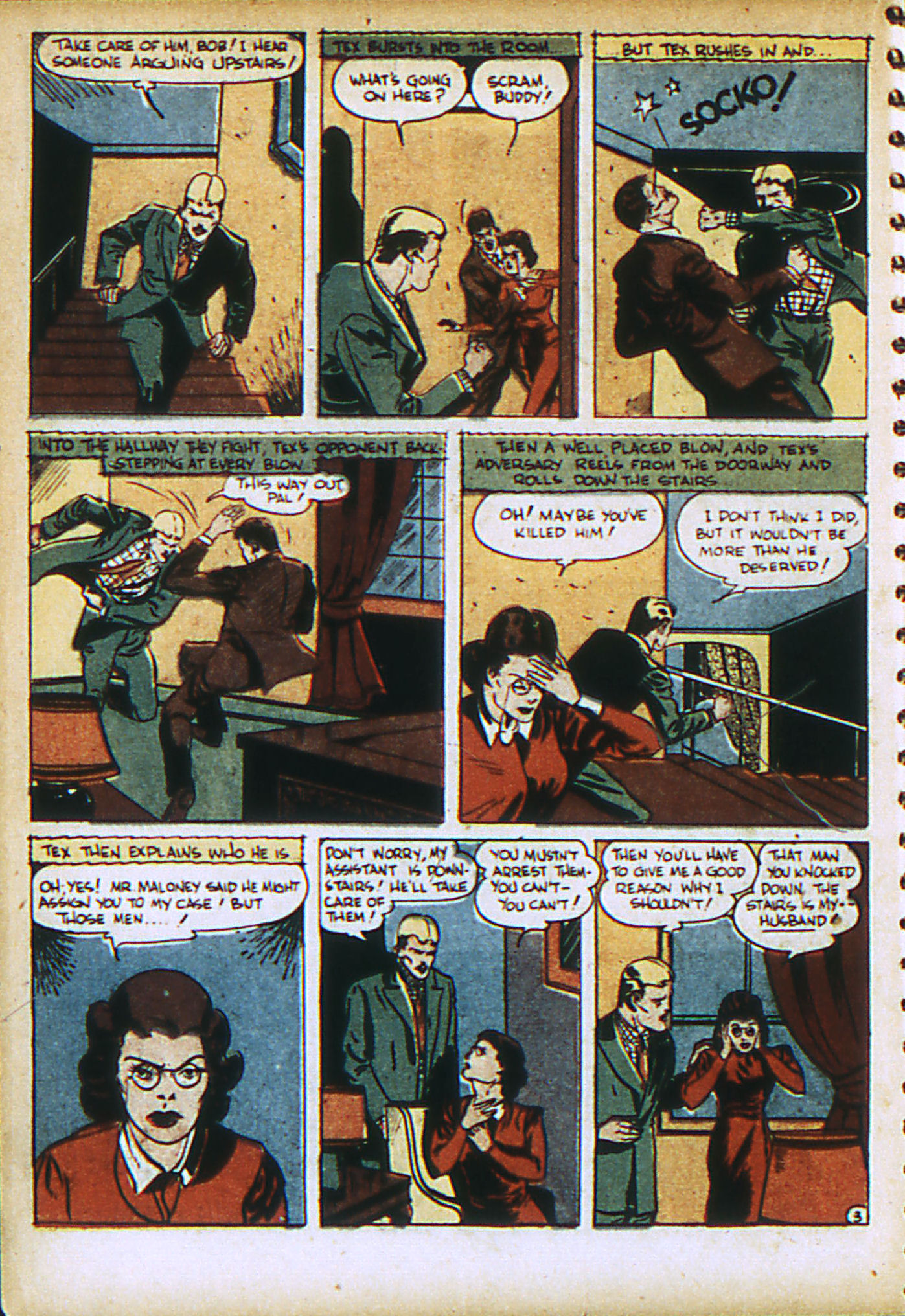 Read online Action Comics (1938) comic -  Issue #28 - 39