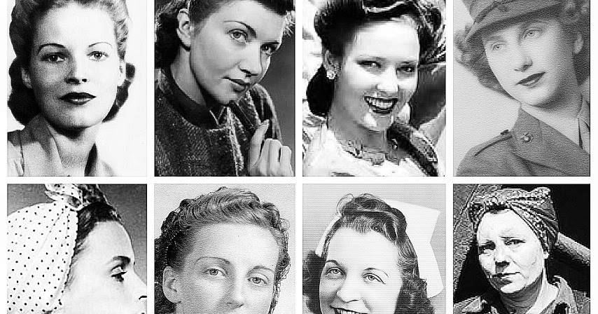 The Victory Rolls The Lifted And The Swoops Vintage