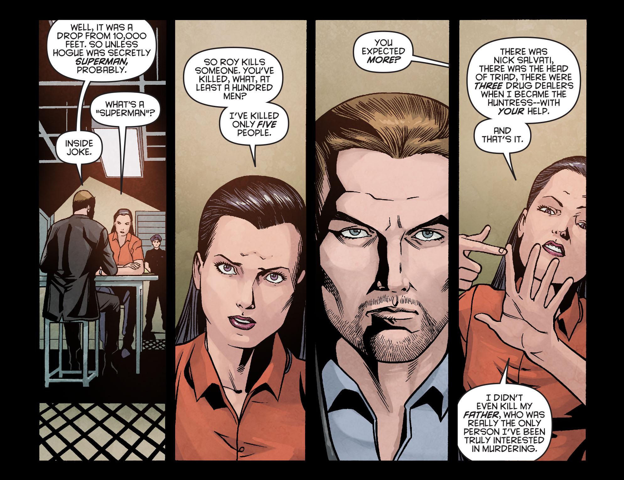 Read online Arrow: Season 2.5 [I] comic -  Issue #16 - 17