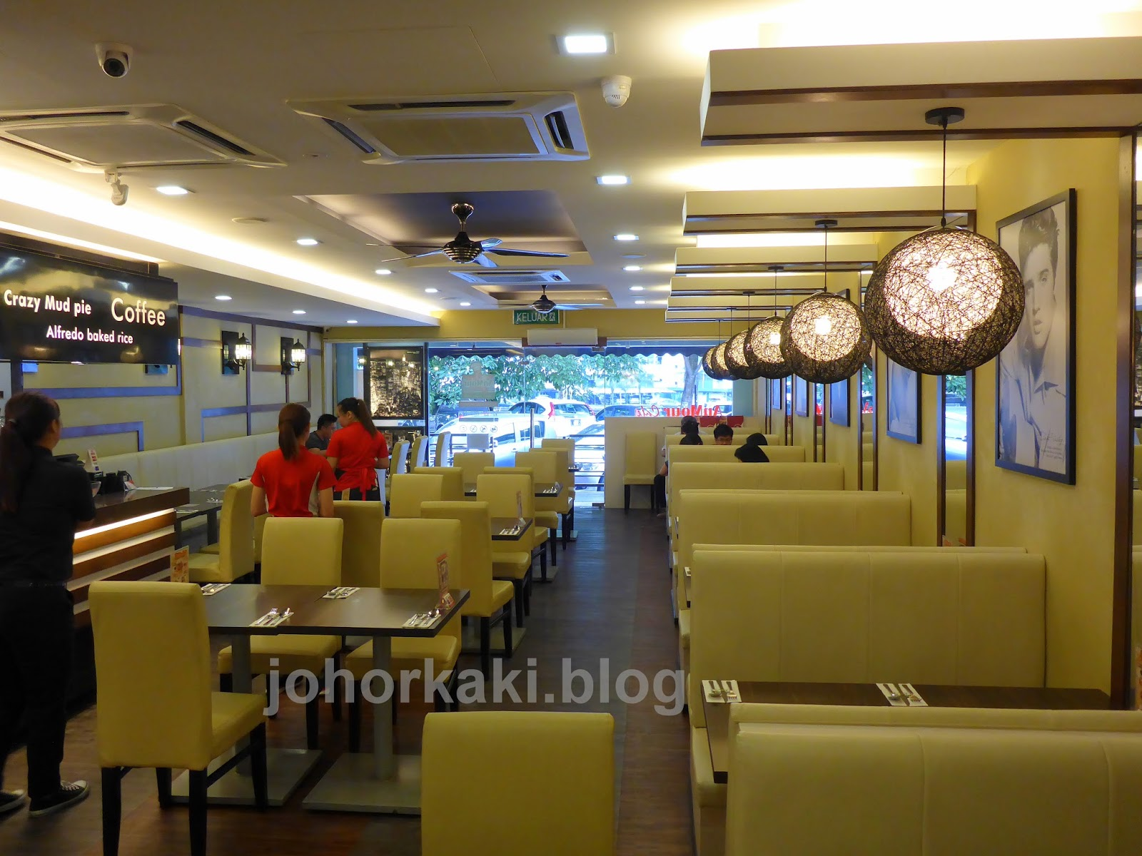 Anmour cafe casual america restaurant in johor bahru