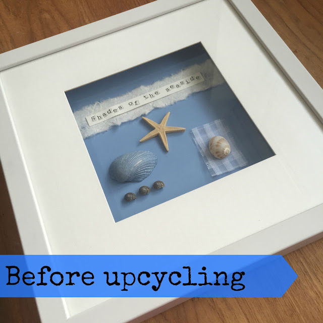 Upcycle an old picture frame