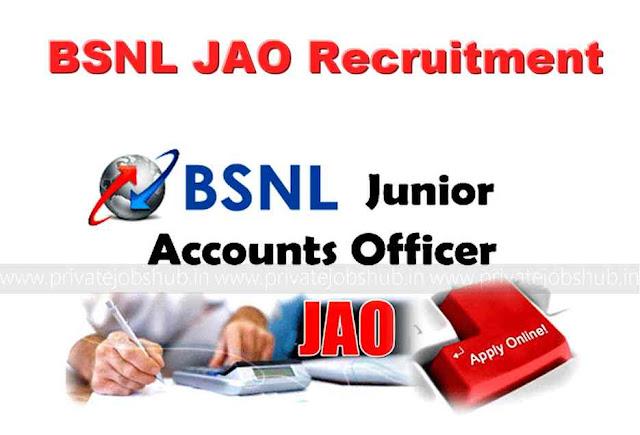 BSNL JAO Recruitment