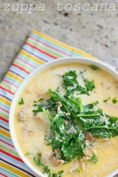 Zuppa Toscana Olive Garden Copycat Creamy Potato Sausage Soup recipe