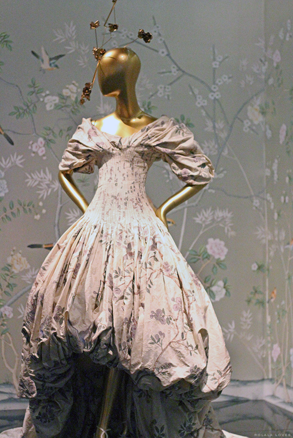 Alexander McQueen at China Through The Looking Glass