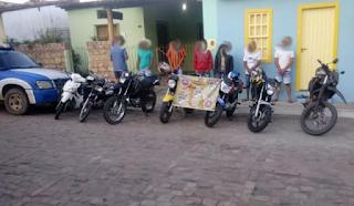 Cipe acaba competição de motos