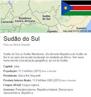 República do Sudão do Sul