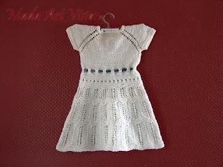 [313] Bawelniana sukienka z kokardką