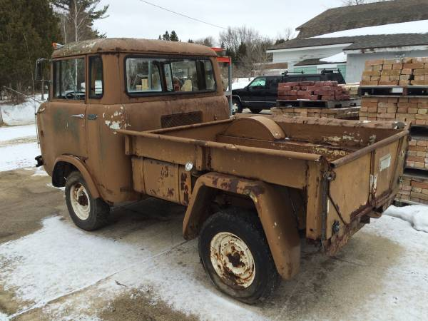 Jeep Fc Crew Cab For Sale >> 1960 Jeep FC150 4x4 Truck Project For Sale - 4x4 Cars