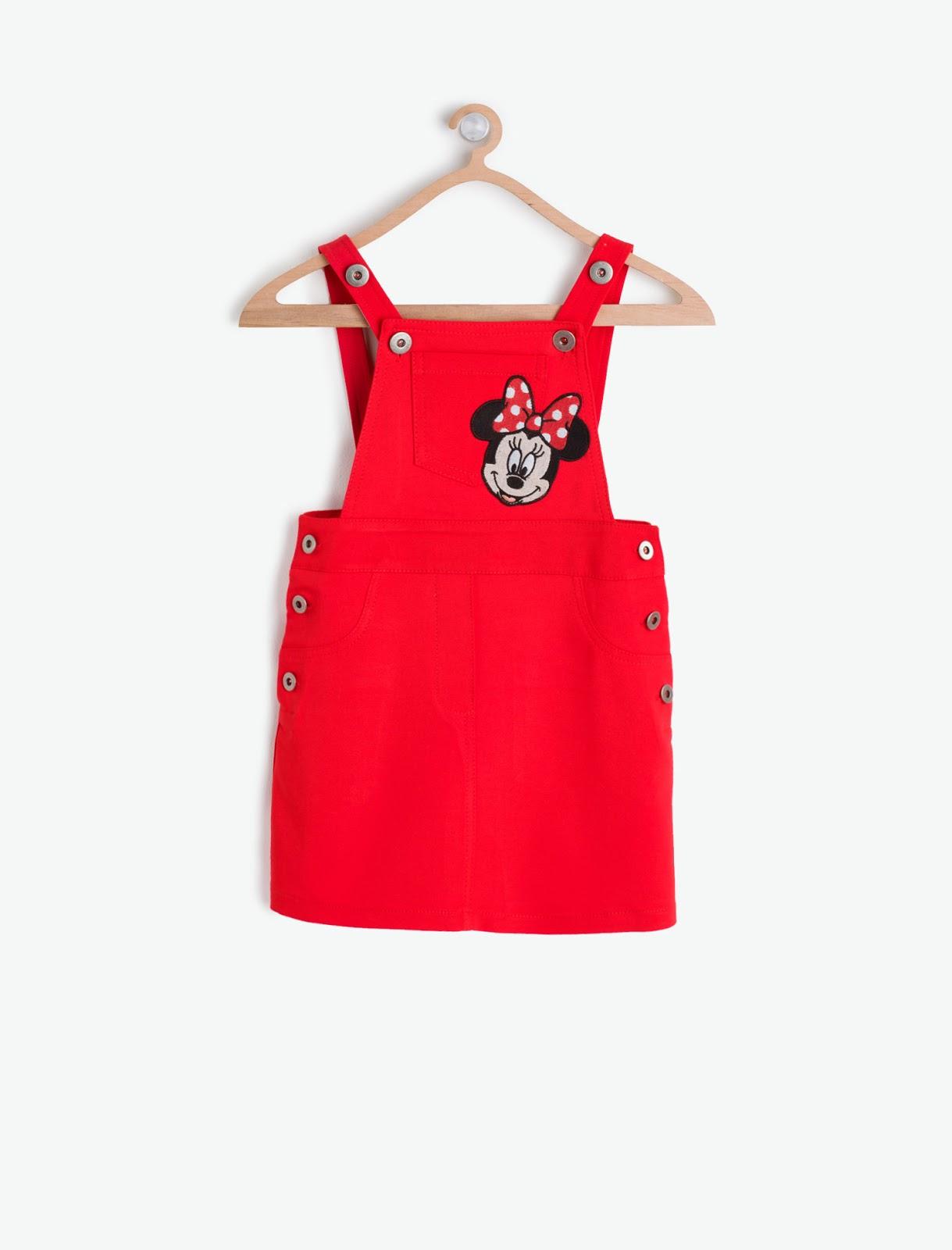 b4713fe7dd4fc BeyazBegonvil: Disney Minnie By Koton Çocuk Modası