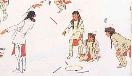 What Games Did The Cherokee Kids Play