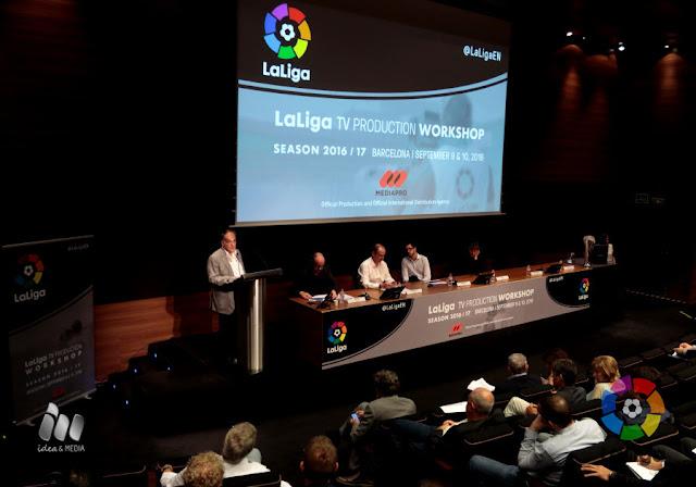 LaLiga vende su producto a broadcasters de todo el mundo