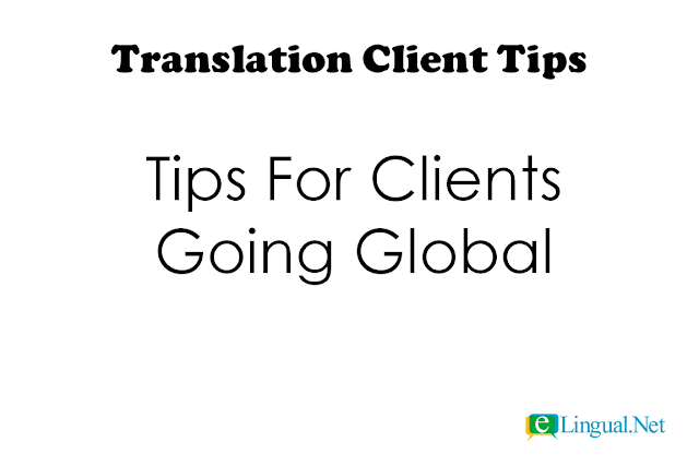 Translation Client TIps | www.elingual.net