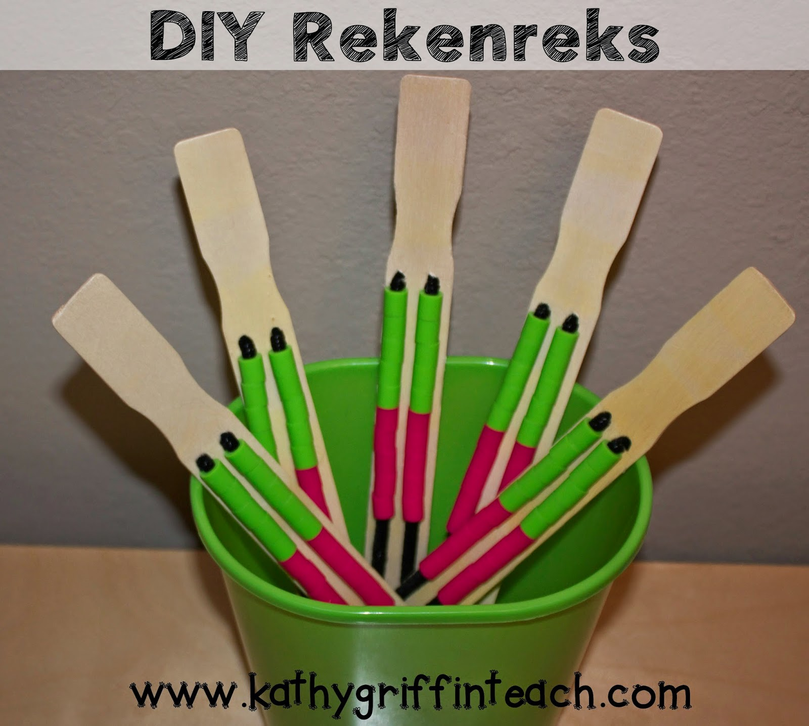 Kathy Griffin S Teaching Strategies Diy Rekenrek