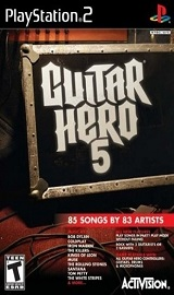 guitar hero 5 playstation 2 - Guitar Hero 5 PS2 [NTSC-U]