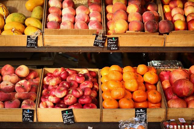 Fresh fruit on Parkway, Camden - UK lifestyle blog
