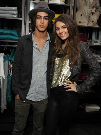 Victorious: Avan Jogia and Victoria Justice