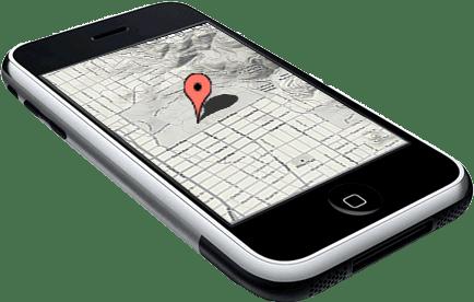 geolocaliza o atrav s de gps do aparelho utilizando phonegap api google maps e jquery mobile. Black Bedroom Furniture Sets. Home Design Ideas