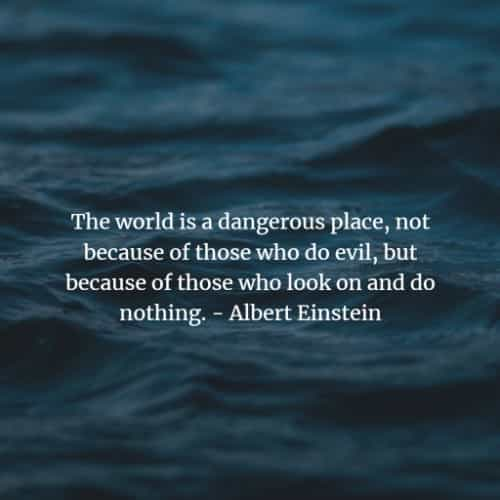 Albert Einstein most inspirational quotes about life