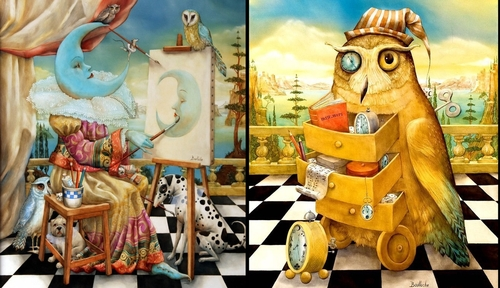 00-Agnes-Boulloche-Paintings-that-Spill-over-into-the-World-of-Surrealism-www-designstack-co