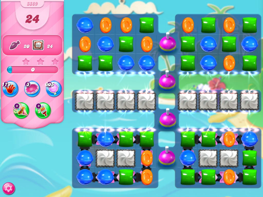 Candy Crush Saga level 3389